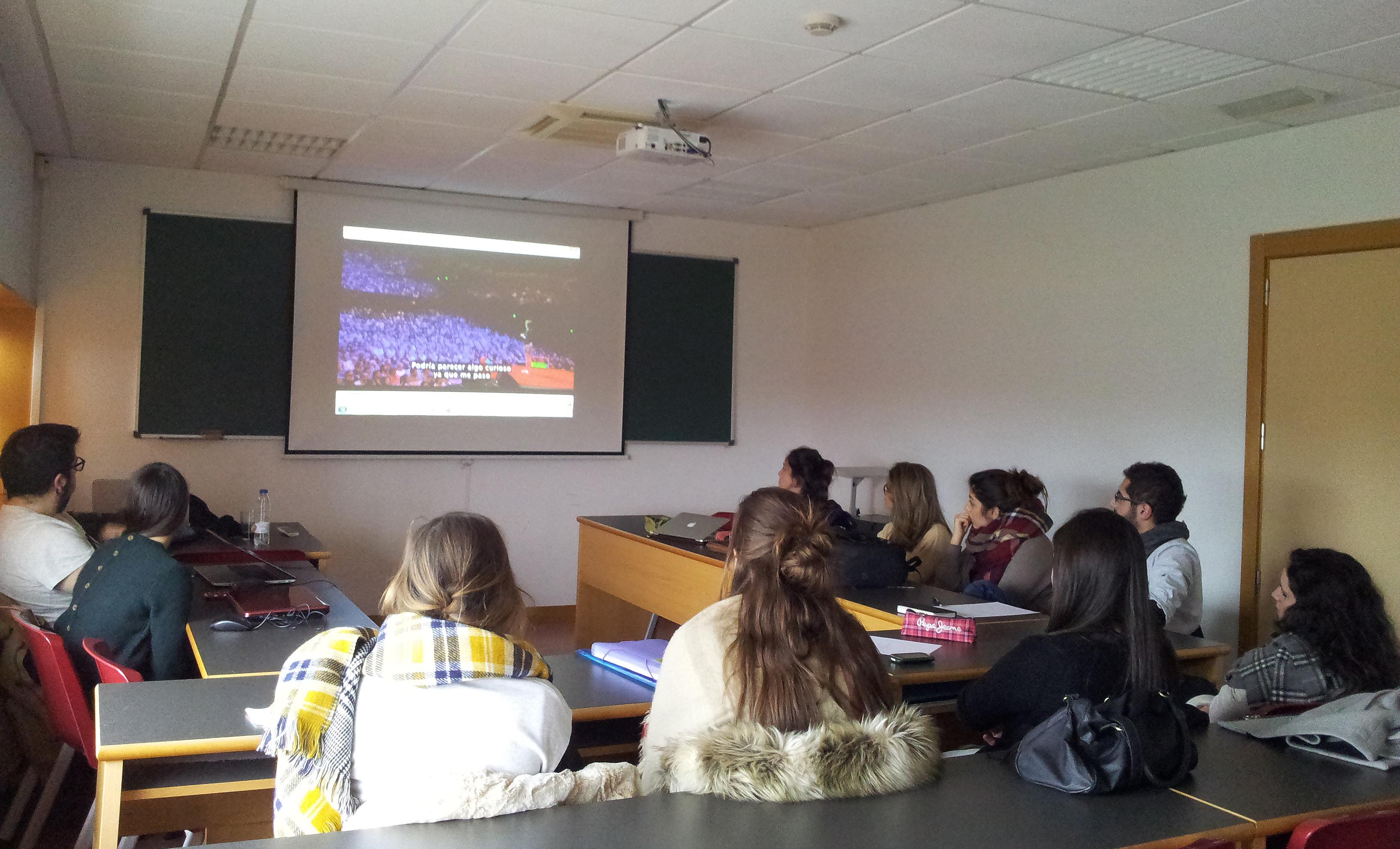 Clases de comunicaci n y redes sociales en la universidad for Grado superior arquitectura